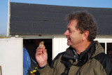 Peter Öhrström med en Penduline