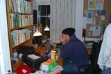 Aron gör nåt Hedehus 29.10-08