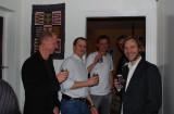 Lasse O, Torbjörv V,Morgan S, å Andy H på Morgan Svenssons 400-fest.