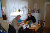 Hampus & Aron i vårat kök