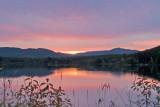zP1060309 Sunset at Lake 5 near West Glacier Montana.jpg
