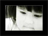 BW children's eyes - gli occhi dei bimbi BN