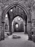Inside St German's Cathedral, Peel Castle