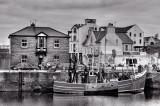 The quayside, Peel, Isle of Man