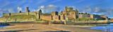 Peel Castle Panoramic