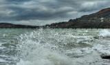Ramsey beach at high tide