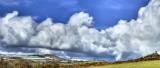 Heavy clouds over Glen Mona  (Best viewed at original size)