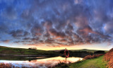 Sunset, Sulby Reservoir, Isle of Man