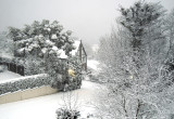 Laxey in the snow