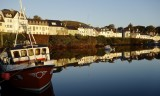 Roundstone Harbour, early morning.