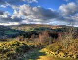Towards Glen Roy