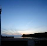 Port Erin at dusk