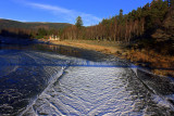 Advancing Ice on the  River Dee