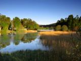 Aboyne Loch One Cold & Frosty Morning