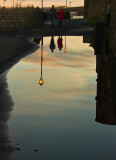 Puddle Reflections - St Andrews