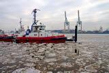 Harbour in winter