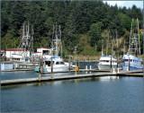 Boats at Dock  Southern Oregon.jpg