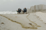 Hurricane Ike Storm Surge at Navarre Beach, Florida