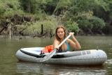 Monica's rainy day float