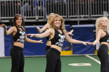 Black Pearls dance at the 1st  home game 2009