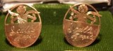 Scull's Angels Cuff Links