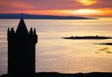 Sunset over the Aran Islands