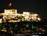 Acropolis Moonset (4am)