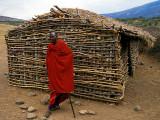 Maasai School + Chief
