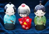Three Kokeshi