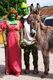 Shrek, Fiona and Donkey