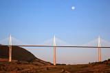 Millau Viaduct at Dawn