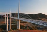 Millau Viaduct at Dusk