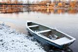 Iced-in Boat