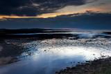 Creegh River meets the Sea