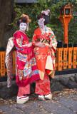 Geishas, Kyoto