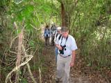 Birding on the trail at Birds Eye2