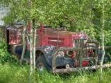 Abandoned vehicle 1820
