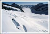 SWITZERLAND  - BERNESE OBERLAND - SUMMIT OF JUNGFRAU