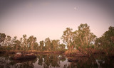 Manning Gorge in Moonlight