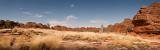 Bungle Bungle Domes and spinifex grass