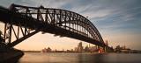 Morning at Sydney Harbour Bridge