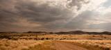 Light Rays in the Namib Desert