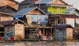 Pankalang Bun - levels of houses