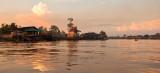 Pankalang Bun - river clouds reflection