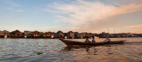 Pankalang Bun - river pano and boat
