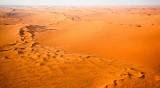 Sea of Sand snaking towards infinity