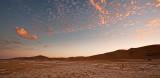 Dusk Clouds at Walvis Bay Dunes