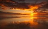 Cable Beach Sun Cloudscape Reflection