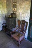 Living room of Fjeldsted farm