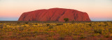 Uluru at dusk - fine art panorama